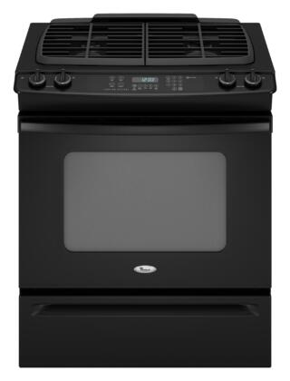 Whirlpool GW397LXUB Gold Series Slide-in Gas Range with Sealed Burner Cooktop Storage 4.5 cu. ft. Primary Oven Capacity