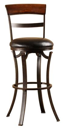 Hillsdale Furniture 4912826 Kennedy Series Residential Faux Leather Upholstered Bar Stool