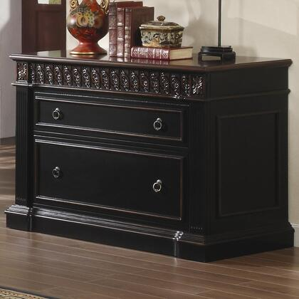 "Coaster 800924 43"" Wood Traditional File Cabinet"