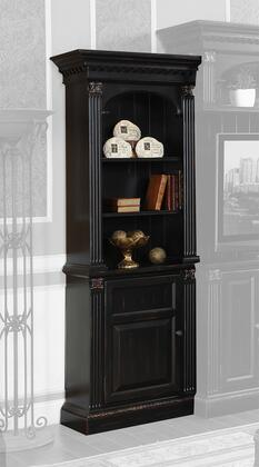 Legends Furniture ZGH3201 Hathaway Series Wood 3 Shelves Bookcase