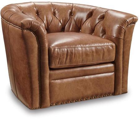 Huntington Ambrose Swivel Club Chair