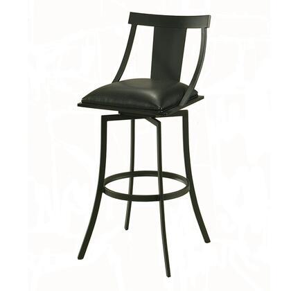 Pastel Furniture QLAA219 Amrita Bar Height Swivel Barstool