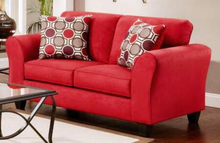 Chelsea Home Furniture 195002-X Lehigh Loveseat, Medium Cushion Firmness, and Fabric Upholstery