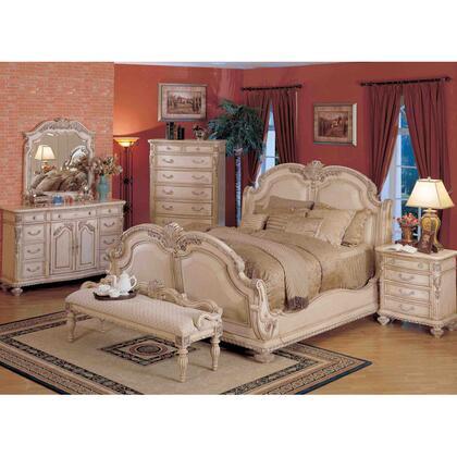 Yuan Tai PT3750QSET4 Porter Series 4 Piece Bedroom Set