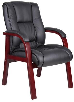 """Boss AELD40MBK 26"""" Contemporary Office Chair"""