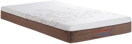Glory Furniture GN3340T Capella Series Twin Size Memory Foam Top Mattress