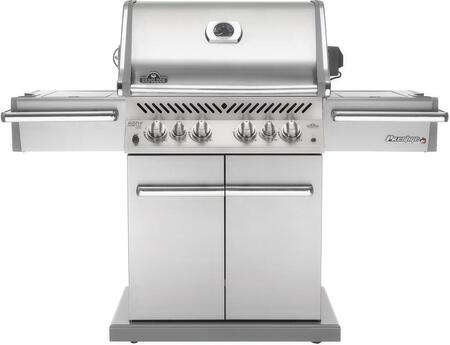 "Napoleon P500RSIBNSS 67"" Freestanding Grill, in Stainless Steel"
