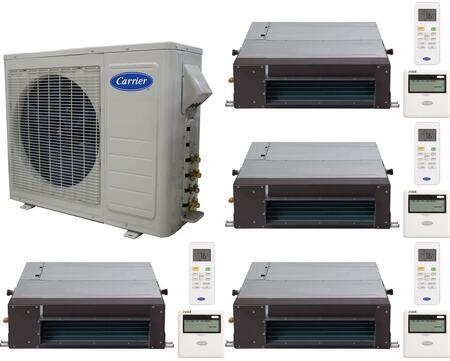 Carrier 701230 Performance Quad-Zone Mini Split Air Conditio