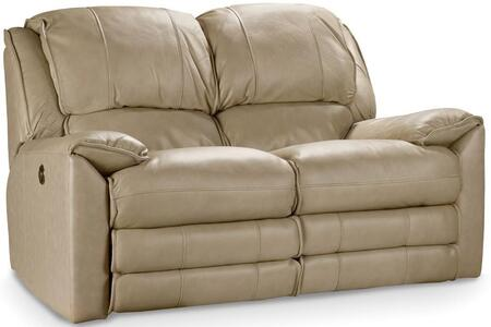 Maximus Festival Power Loveseat Shown in Taupe (Beige)