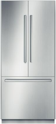 Bosch B36BT830NSNOWBENCH 800 Series Stainless Steel Counter Depth French Door Refrigerator with 20 cu. ft. Capacity