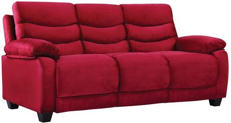 Glory Furniture G558S  Stationary Suede Sofa