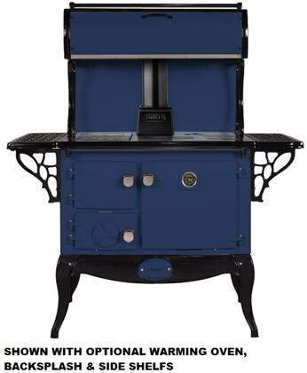 Stanley WSERWBNBBLU  Woodburning Freestanding Range with 1.8 cu. ft. Primary Oven Capacity, in other