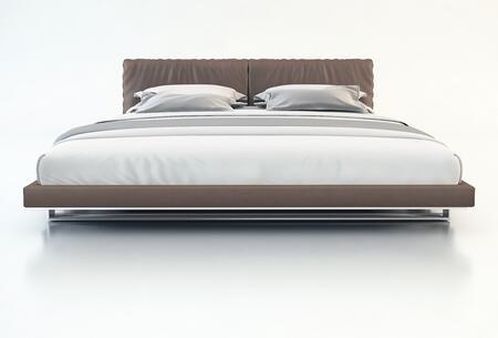 Modloft MD327QPLM Broome Series  Queen Size Platform Bed