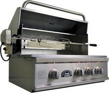 Sole SO38BQRTRL Built In Grill, in Stainless Steel
