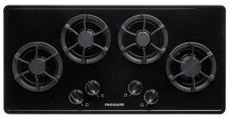 """Frigidaire FFGC3613LB 36"""" Gallery Series Gas Sealed Burner Style Cooktop"""
