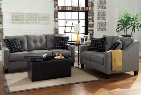 Milo Italia MI9881SLOCHAR Lorena Living Room Sets