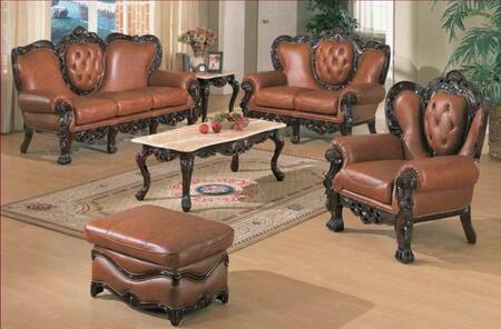 J. Horn 701BROWNS3SET Living Room Sets