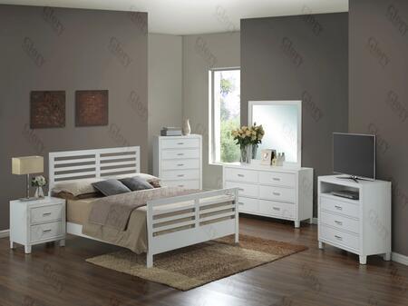 Glory Furniture G1275CKB2NTV G1275 King Bedroom Sets