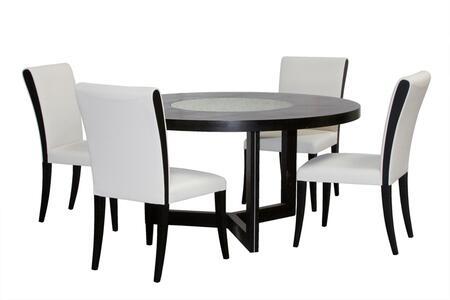 Diamond Sofa 03821990T5PC Diamond Sofa Dining Room Sets