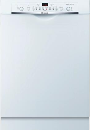 "Bosch SHE3AR72UC 24"" Ascenta Series Built In Full Console Dishwasher with 14 Place Settings Place Settingin White"