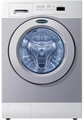 "Crossover WHWF09810 27"" Energy Star Rated Commercial Washer with 3.5 cu. ft. Capacity, 1000 RPM, 4 Wash Cycles, 300 G Force, Professional 8-point Suspension, and 2 Cycle Options, in Grey"