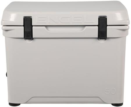 Engel ENG5 1.6 Cu. Ft. DeepBlue Roto-Molded High-Performance Cooler with Built-In Handles, Stainless Steel Inserts, Unity Latch System and Cornerstone Feet