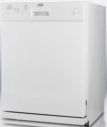 "Summit DW2432ADA 24"" Professional Series Built-In Full Console Dishwasher"