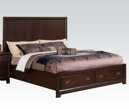 Acme Furniture 00157EK Bellwood Series  King Size Panel Bed