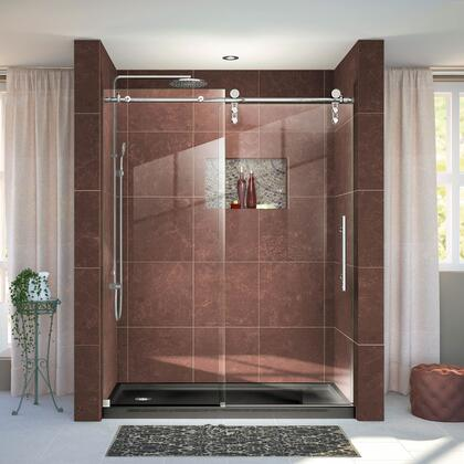 Enigma Z Shower Door 36 60x76 BlackBase L 08
