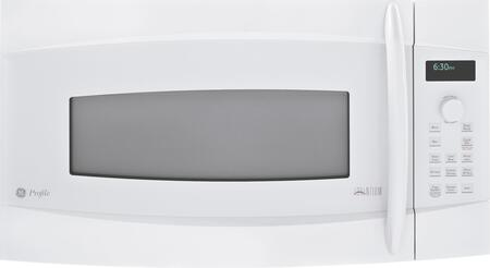 GE Profile PSA2200RWW 1.7 cu. ft. Capacity Over the Range Microwave Oven