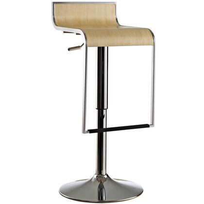 Modway EEI605NAT Lem Series Residential Not Upholstered Bar Stool