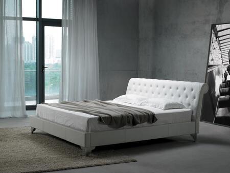 VIG Furniture VGKCSREMO1F Modrest San Remo Series  Full Size Platform Bed
