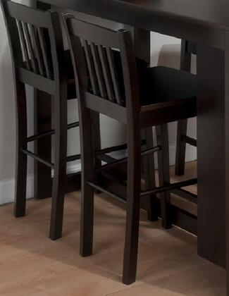 Jofran 810BS293KD Maryland Series Contemporary Not Upholstered Wood Frame Dining Room Chair