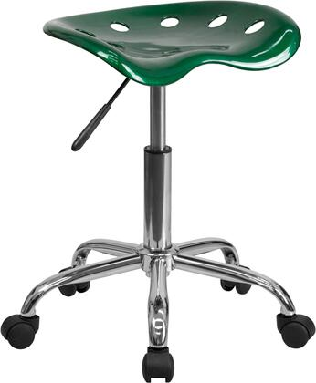 """Flash Furniture LF214AGREENGG 17"""" Contemporary Office Chair"""