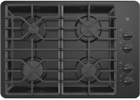 "GE JGP3530DLx 30"" Gas Cooktop with 4 Sealed Burners, Recessed Cooktop, Heavy Duty Grate, in"