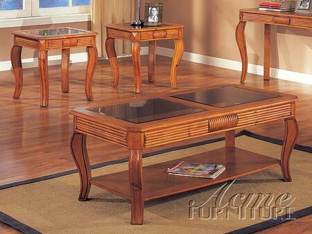 Acme Furniture 06150 Contemporary Living Room Table Set