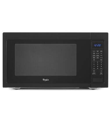 Whirlpool WMC50522 2.2 cu. ft. Countertop Microwave with Sensor Cooking, Recessed Glass Turntable, 1,200 Watts Cooking Power, Touch Control System, Control Lock, and Optional Trim Kit in