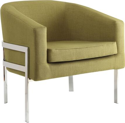 Coaster 902531 Accent Seating Series Armchair Fabric Metal Frame Accent Chair