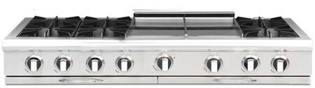 "Capital CGRT604GG2L 60"" Culinarian Series Liquid Propane Open Burner Style Cooktop"