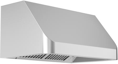 Z Line 488304 Outdoor Under Cabinet Range Hood with 1200 CFM, 4 Fan Speeds, Stainless Steel Dishwasher Safe Baffle Filters, in Stainless Steel