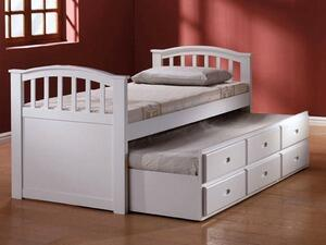 Acme Furniture 0914 San Marino Franic White Captain Bed With Trundle