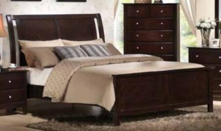 Yuan Tai TR1501K Torino Series  King Size Panel Bed