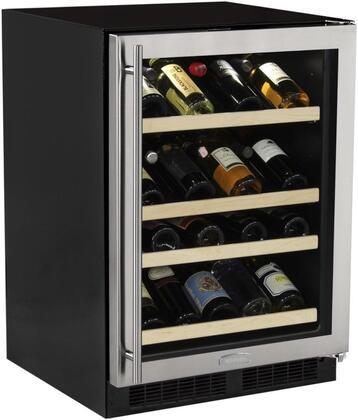 """Marvel ML24WSG1RS 24"""" Freestanding Wine Cooler"""