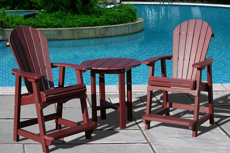 Vifah V1091SET7B Patio Sets