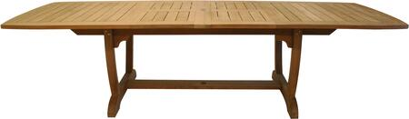 Royal Teak Collection GALAX Gala Expansion Table with Double Leaf