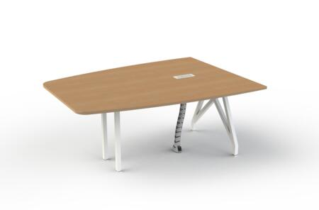 Scale 1:1 TKTLMEXX6 Think Tank Tele Meet Conference Table, 6ft