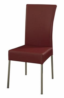 Powell 433285 Modern Fabric Metal Frame Dining Room Chair