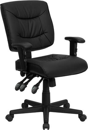 """Flash Furniture GO1574BKAGG 25"""" Contemporary Office Chair"""
