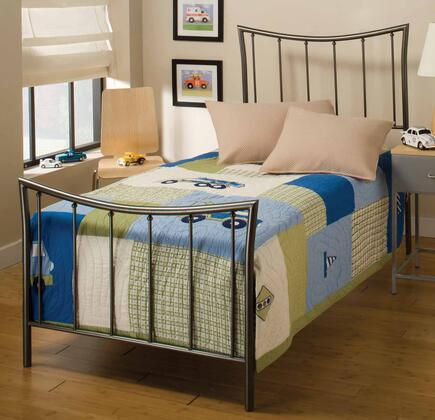 Hillsdale Furniture 1333BTWR Edgewood Series  Twin Size Panel Bed