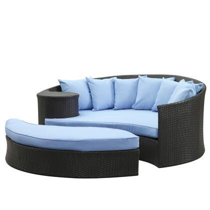 """Modway EEI645EXPLBU 71"""" Water Resistant Outdoor Bed"""